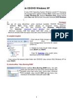 Membuat Bootable CD-DVD WinXP & Win7
