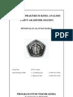 Laporan Praktikum Kimia Teknik