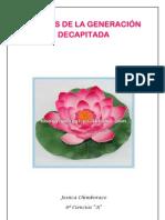 POEMAS DE LA GENERACIÓN DECAPITADA