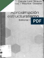 Aproximaciones Al Estructuralismo