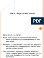Lecture 2-Moisture Sorption Isotherms