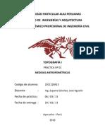 informe n°01 - topo I(topografia 2013)