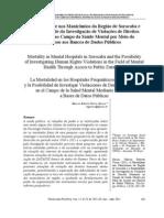 A Mortalidade nos Manicômios da Região de Sorocaba e a Possibilidade da Investigação de Violações de Direitos Humanos no Campo da Saúde Mental por Meio do Acesso aos Bancos de Dados Públicos