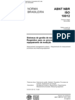 ISO 10012-2004 Portugese