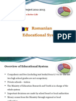 RO Educational System