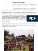 Semana Santa en Cajamarca