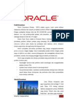 Analisis SWOT Oracle