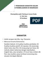 9. Pend Karakter Dalam Pembelajaran