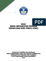 Buku Model Implementasi PIGP Tahun 2012