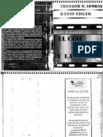 Adorno Eisler El Cine y La Musica 1969