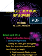 School Age growth and development