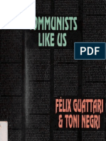 Communists Like Us - Antonio Negri