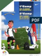 Depliant International Camp