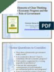 Economis and Government