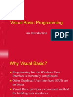 Visual Basic Programing