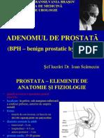 Curs II - Adenomul de Prostata