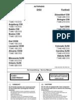 Blaupunkt Augsburg C30 Circuit Diagram