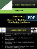 HRM Dessler 08 Training and Development
