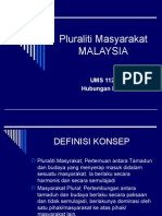 Pluraliti Masyarakat M3