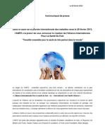 Création de l'alliance internationale pour la  santé du foie