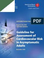 Cardiovascular Risk in Asymptomatic Adults