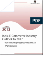 Indian E-Commerce Industry Outlook 2017
