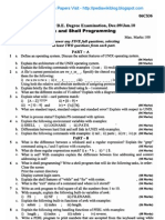 UNIX & Shell Programming Jan 2010