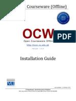 VU OCW Offline Installation Guide Ver 1.0.0