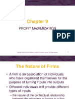 Ch09 Profit Maximization