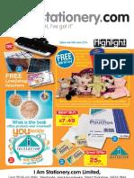 I Am Stationery.com Highlight Mailer