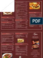kopie van tajine menu kaart meenemen