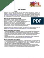 Star Mill FAQ 2013