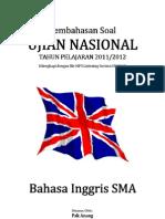 Pembahasan Soal UN Bahasa Inggris 2012