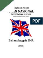 Ringkasan Materi UN Bahasa Inggris