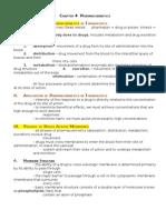 Chapter 4 - Pharmacokinetics