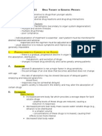 Chapter 11 - Drug Therapy in Geriatrics