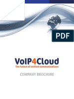 VoIP4Cloud Company Brochure