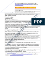 Interwoven Sample Technical Placement Paper