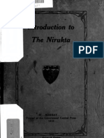Introduction to the Nirukta