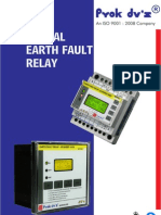 Earth Fault Relay Digital