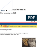 Fun Learning For Kids - Numeric Puzzles