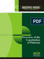 Overview of the Constitution of Pakistan
