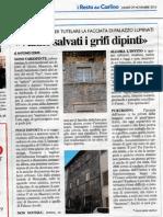 Salvare Palazzo Luminati (Vanno salvati i grifi dipinti)