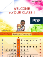 Welcome to Our Class ! 1 2 3 4