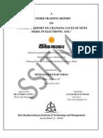 Dainik Bhaskar Mithalesh Report