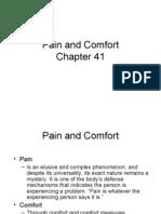 Pain and Comfort Chp 41 Blackboard