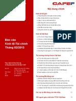 Báo cáo kinh tế tài chính tháng 2 năm 2013_cafebook.info