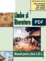 Manual Ed Art Limba Si Literatura Romana-cls a-IX-A