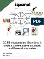 GCSE Spanish Guide 1 PDF