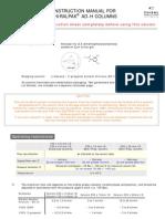 Chiralpak ADH Manual